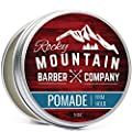 Pomade for Men - 5 oz Tub- Classic Styling Product with Strong Firm Hold for Side Part, Pompadour & Slick Back Looks - High Shine & Easy to Wash Out - Water Based
