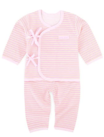 Babynice Sousvêtements Ensembles 2 Pièces Bébé Fille Rayures Haut+Pantalon Bébé  Nouveau-Né Pyjama en Coton Doux Mignon  Amazon.fr  Vêtements et accessoires b3a71620514