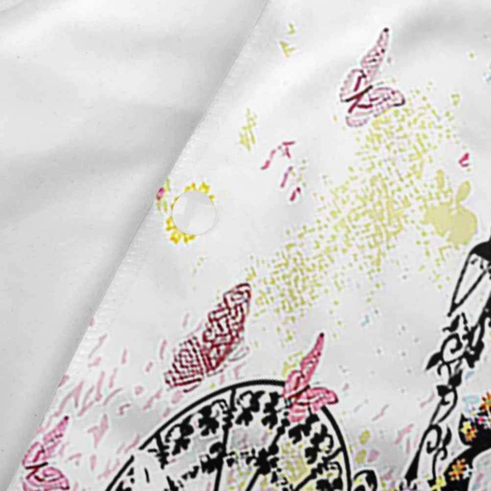 32 x 50 inces Doodle Fish Happy Aquarium for Kids Junior Beach Towel Carmaxs Kids Kid Hooded Blanket