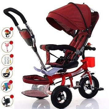 Triciclos Bebes 1-6 Año Evolutivo, Bici Plegable Bicicletas ...