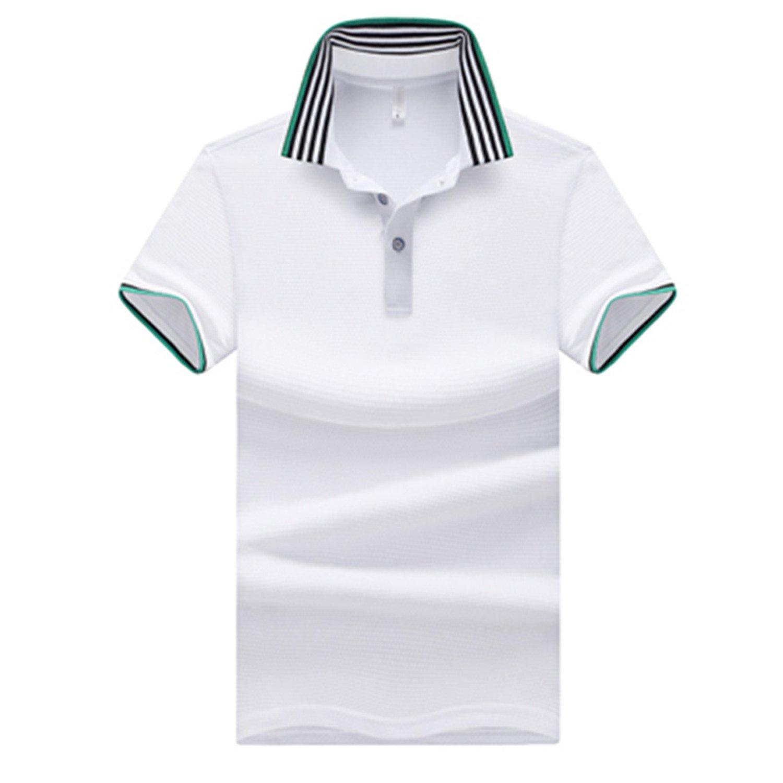 Sonjer Polo Shirts Men Summer Casual Short Sleeve Casual Cotton Shirts Mens Polo Tees Para Hombre Clothing 5XL