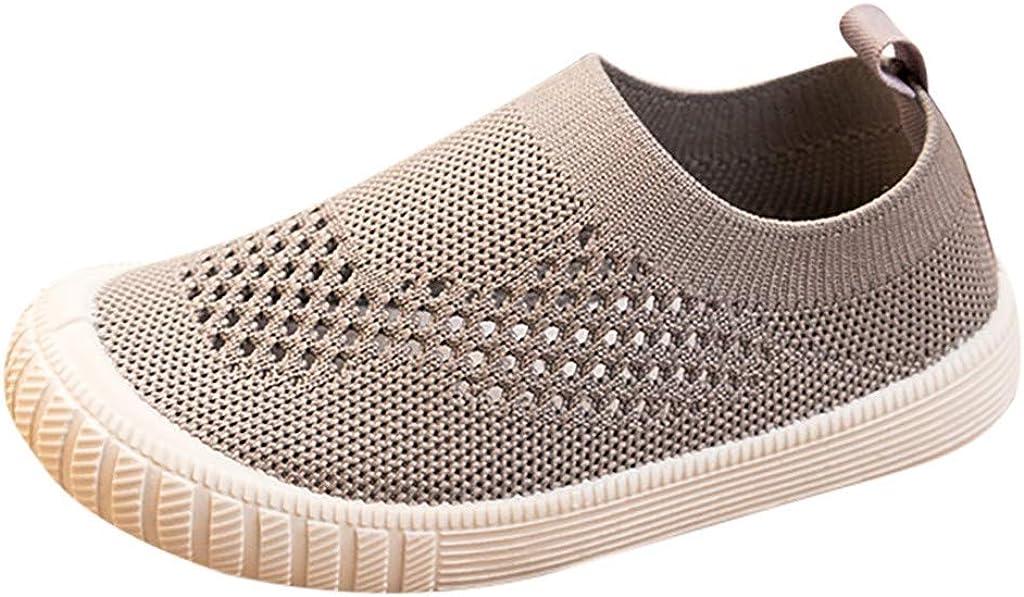MINGXINGFR Enfant en Bas /âge Enfants B/éb/és Gar/çons Filles Baskets Course /à Pied Chaussures de Sport Bebe Confort Sneakers