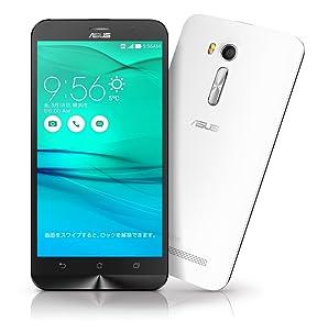 エイスース SIMフリースマートフォン ZenFone Go ホワイト ZB551KL-WH16