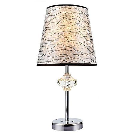 Amazon.com: dmmss lineal rayas negro hogar vidrio lámpara de ...