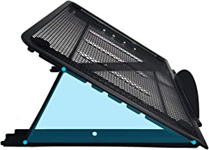 """Laptop Stand,Adjustable Laptop Holder,Portable Foldable Laptop Riser,Height Adjustable Computer Laptop Stand,Compatible for 9 to 14"""" Laptops"""