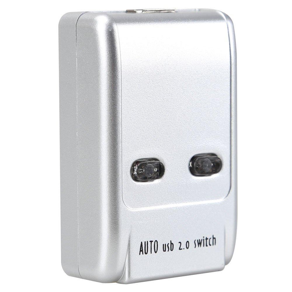 Sanoxy USB 2.0 AB Switch Box, 2 PC to 1 USB 2.0 Device (Printer, Scanner, etc...) by SANOXY