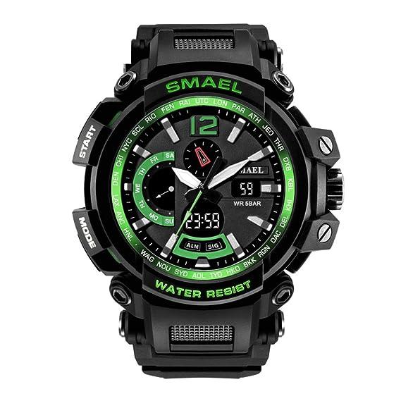 Reloj digital profesional Relojes digitales electrónicos para hombre Impermeable