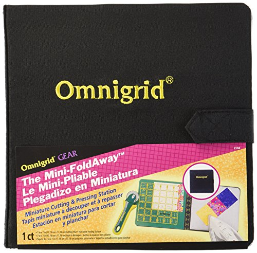 - Omnigrid 7-Inch-by-7-Inch Mini Fold-Away Portable Cutting & Pressing Station