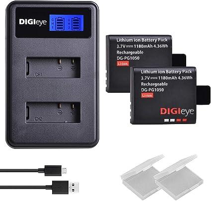 Cargador de batería USB para SJCAM SJ4000 SJ5000 SJ6000 SJ7000 Acción Cámara