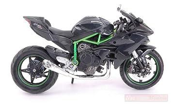 MAISTO MI16880 Kawasaki Ninja H2 R Black/Green 1:12 ...