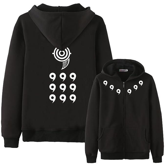 amazon com holran men s hoodie anime naruto bijuu mode hoodie clothing