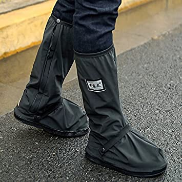 51722cbede256 MQFORU Cycle Waterproof Overshoes, West Biking Cycling Warm Windproof Shoe  Covers Rain Snow Boot Protector Feet Gaiters