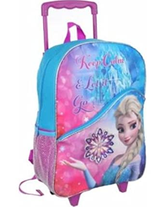 Amazon.com: Disney Frozen Large Rolling Backpack 16