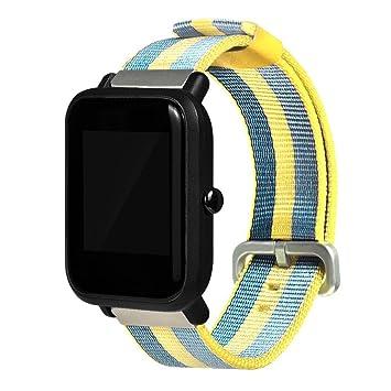Bracelet de rechange pour montre Xiaomi Huami Amazfit Bip Youth S jaune