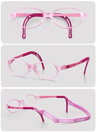 47e1fee05ce Amazon.com  Tomato Glasses Frame Specialized for Kids (TKAC14)   Non ...