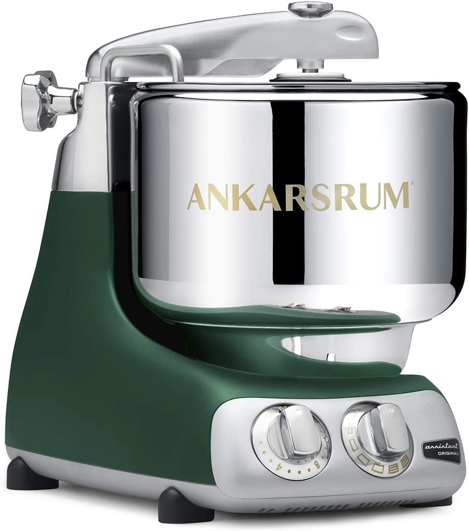 Ankarsrum Original Electric Stand Mixer, 7.4 Quart, Forest Green