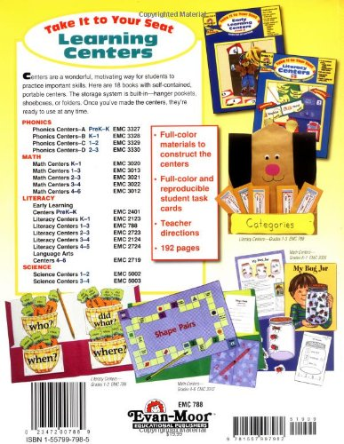 Amazon.com: Take It to Your Seat Literacy Centers, Grades 1-3 ...