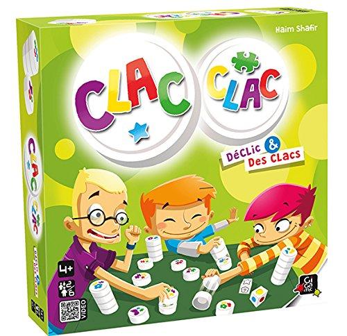 Gigamic AMCLA Gesellschaftsspiel Clac Clac