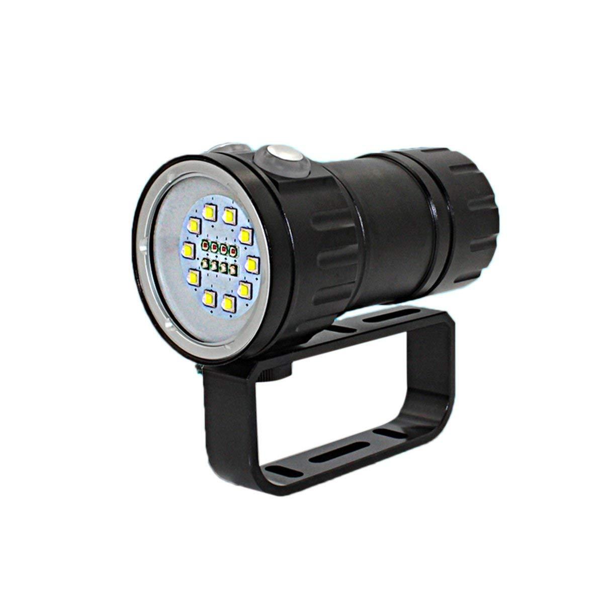 100 Watt High Power Superhelle Unterwassertaschenlampe Wasserdichte LED Füllen Licht Tauchen Taschenlampe Tauchen Taschenlampe