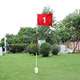 Practice Golf Putting Green Flags