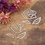 Bazaar Rose Flower Cutting Dies Scrapbooking Album DIY Embossing Decor Paper Card Craft