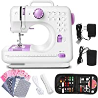 Dechow Sewing Machine for Beginners, Electric Portable, 12 Built-in Stitches with Reverse Sewing, 2 Speeds Double Thread…