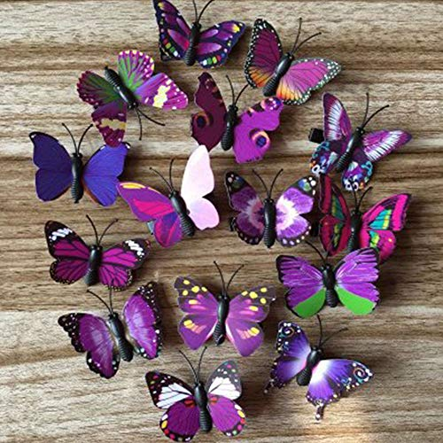 Springdoit Fashion Butterfly Headwear Butterfly Hairpin Party Halloween Christmas Hair Accessories Fancy -