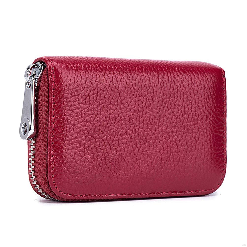 cfae214a91b1 GADIEMKENSD 本革製 カードケース 財布 RFID スキミング防止 レザー カード入れ (デザインが多様である)