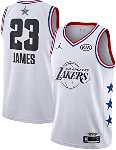 FDRYA Camisetas de Baloncesto para Hombre NBA Lakers 23 James ...