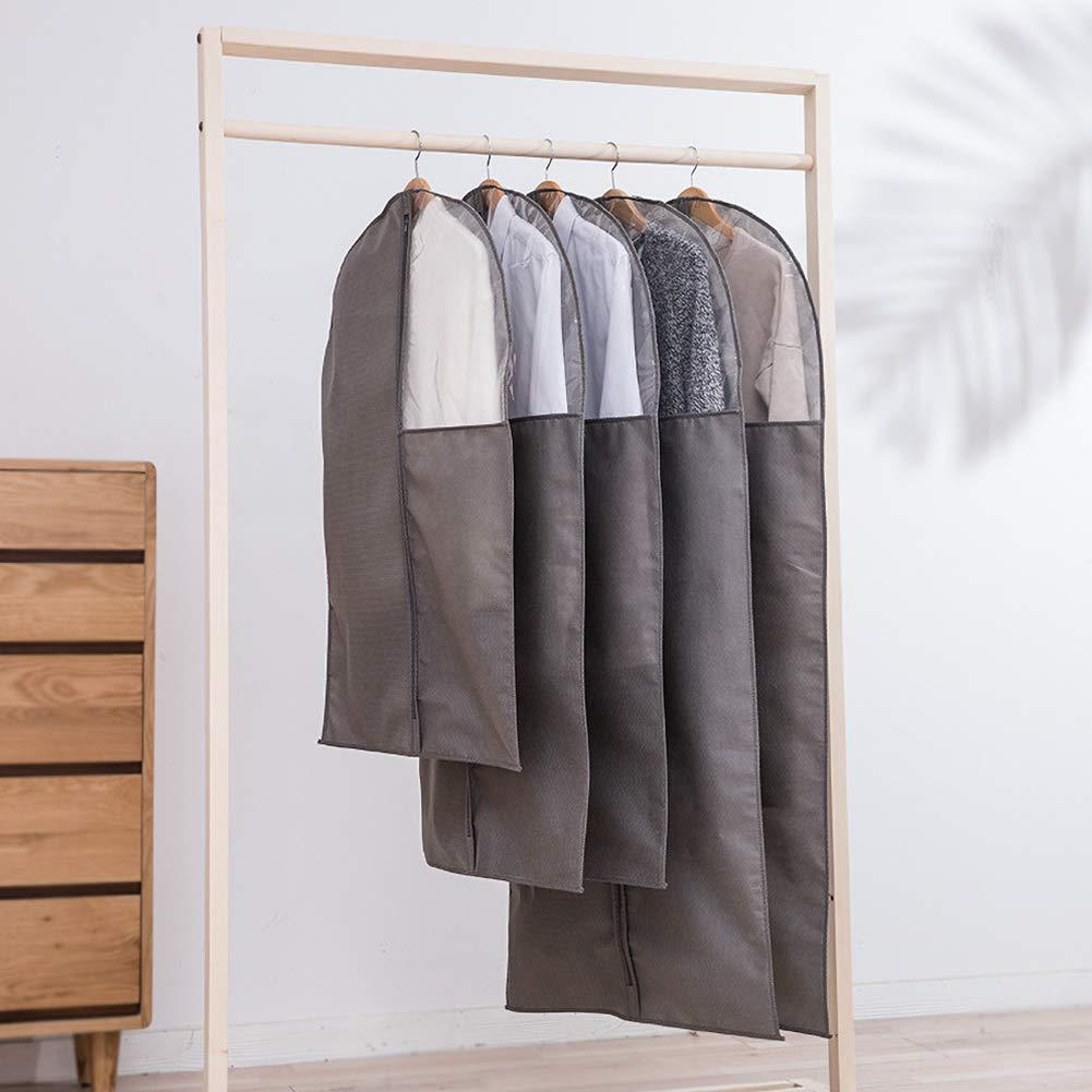 Camisas Alivier Fundas Protectoras para la Ropa a Prueba de Polvo Funda Protectora Bolsa de Abrigo a Prueba de polillas con Cremallera para Trajes Vestidos y Vestidos