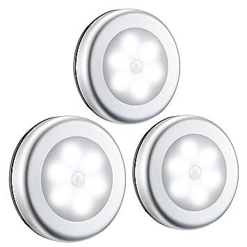 Nachtlicht mit Bewegungsmelder, LED Lichter, Auto ON/OFF Lichtsensor ...