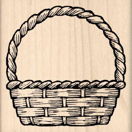 Stamps by Impression Basket Rubber Stamp (Basket Rubber Stamp)