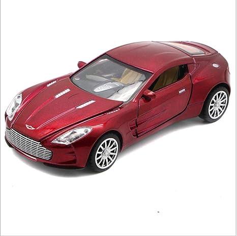 Chichen 01 32 Aston Martin Auto Modell Legierung Spielzeug 4 Türen Offen Simulation Sport Modell Spielzeug Exquisite Persönlichkeit Rot Amazon De Küche Haushalt