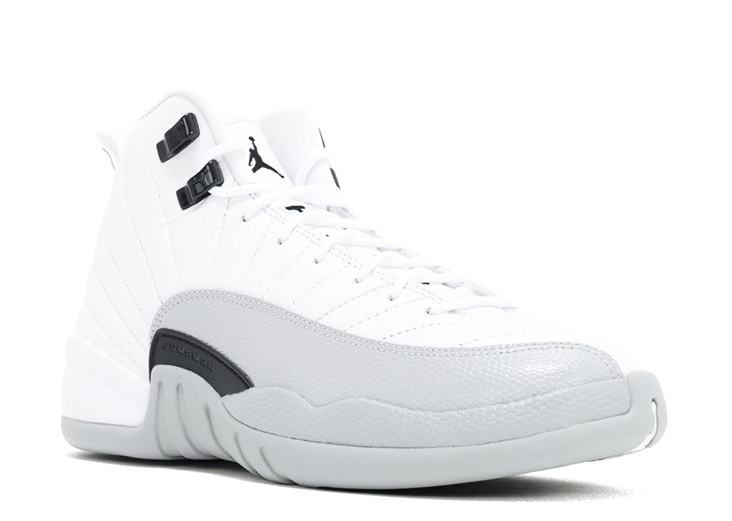 buy popular f0d76 ba6d8 Amazon.com   Nike Air Jordan 12 Retro GG  510815-108  Basketball Barons  White Black-Wolf Grey   Basketball