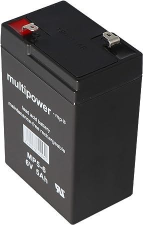 Bleiakku 6v 4 5ah Multipower 101x45x70mm Akku Elektronik