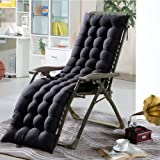 Sun Lounger Cushion Replacement Classic Outdoor Indoor Garden Patio Reclining Relaxer Thick Cushion Seat