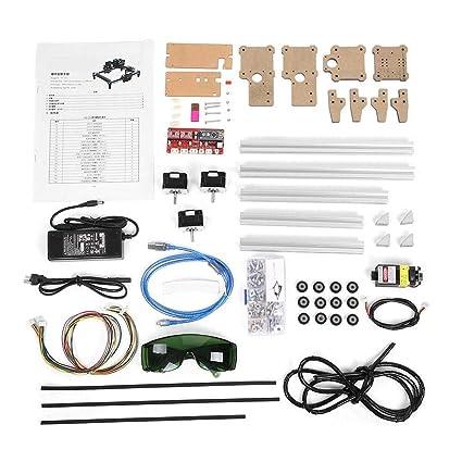 Amazon.com: Máquina grabadora CNC láser grabadora Kits ...