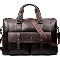 Leather Messenger Bag Satchel Shoulder Crossbody Sling Working Bag Bookbag Briefcase Laptop for Men