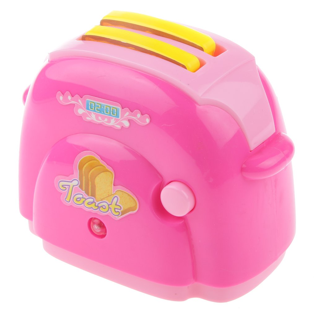 Juguete Iluminación Eléctrica Máquina de Hacer Pan Pretender Niños Plástico: Amazon.es: Juguetes y juegos
