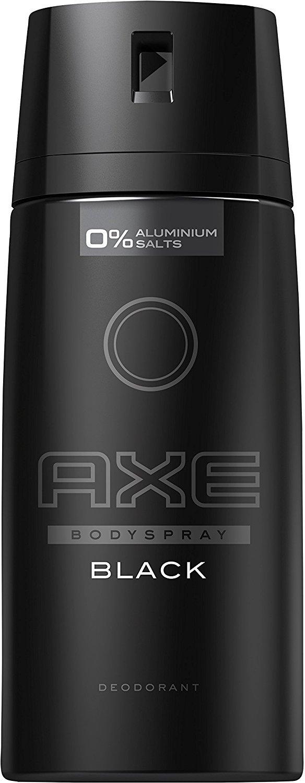 AXE DEODORANT BODY SPRAY BLACK NEW EDITION 150 ML - PACK OF 6
