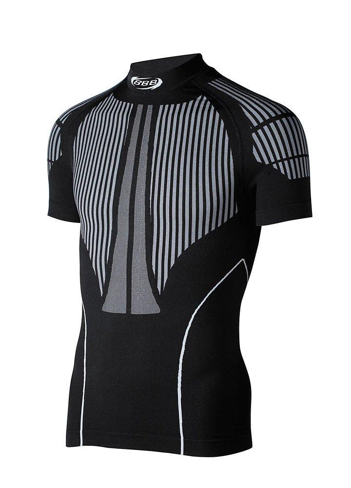 BBB BUW Camiseta interior deportiva manga corta color negro talla M