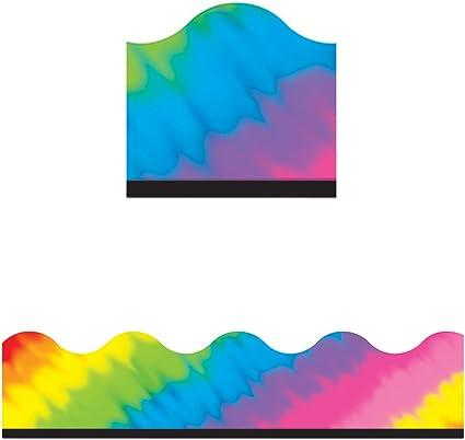 108087 Carson Dellosa Timeless Tie-Dye Borders