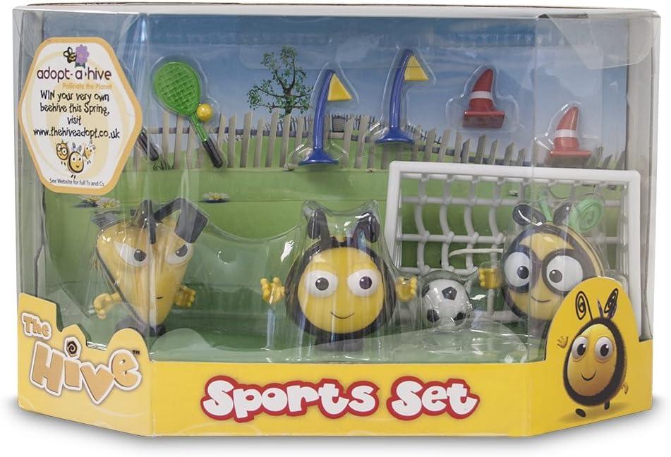 The Hive - Set de Figuras y Accesorios de fútbol, diseño de Abejas ...