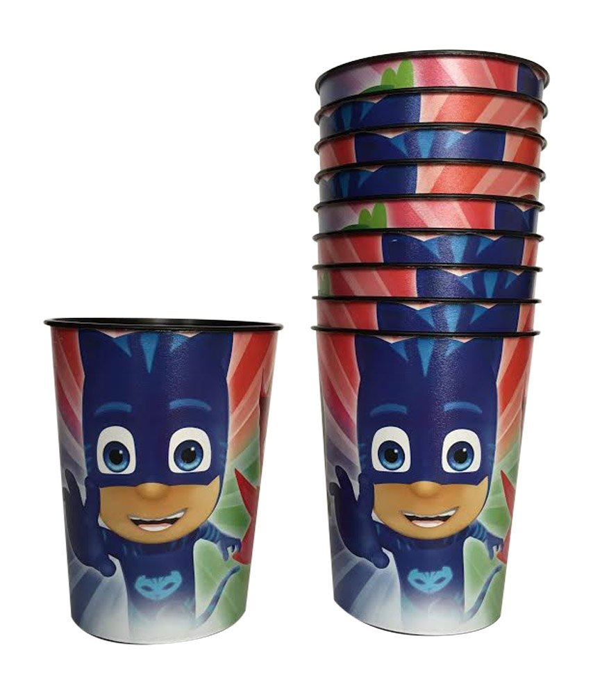 PJ Masks 16 Ounce Party Cups (Pack of 10)