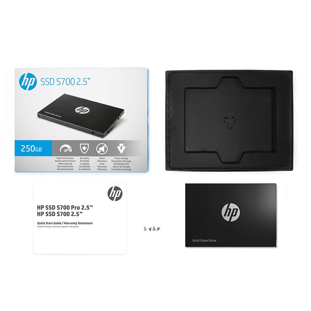 HP C SSD 2DP98AAABC 250GB S700 2 5 inch Retail 2DP98AA#ABL