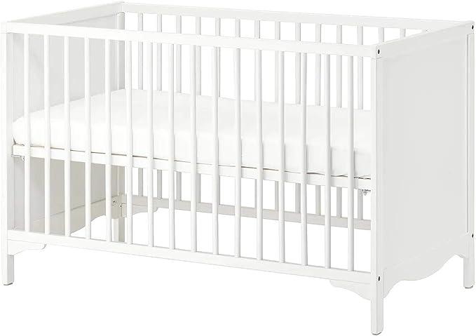 IKEA SOLGUL - Cuna (60 x 120 cm), color blanco: Amazon.es ...