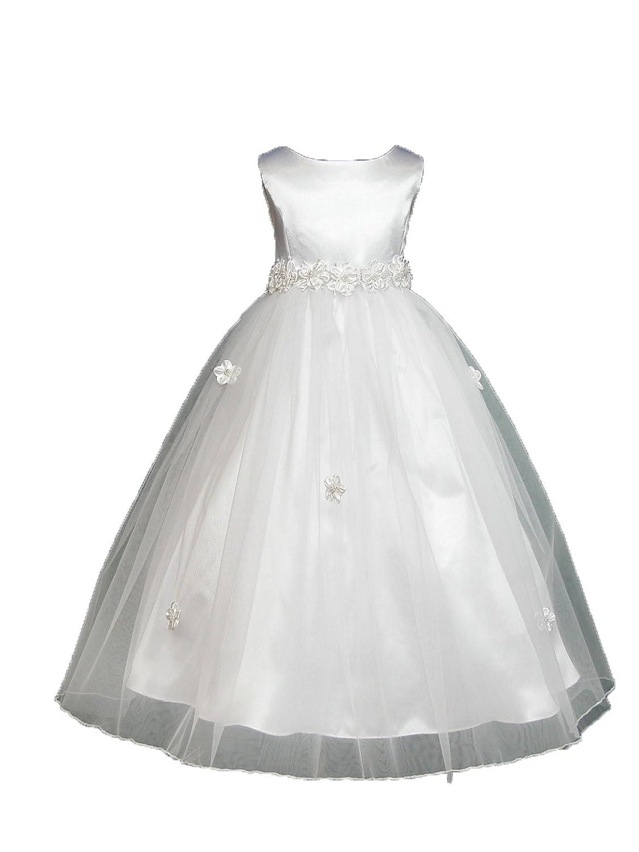 19c50df43e7 White Flower Girl Dresses Size 7