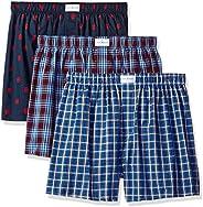 Tommy Hilfiger Mens Underwear Multipack Cotton Classics Woven Boxer Boxer Shorts