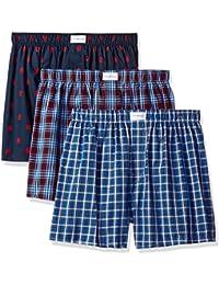 Men's Underwear 3 Pack Cotton Classics Woven Boxers