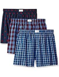 High Elastic Mens Boxer Brief Pink Narwhal Cotton Soft Underwear Snug
